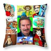 The Parody Years Throw Pillow