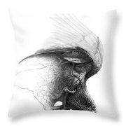 The Parrot Throw Pillow