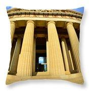 The Parthenon In Nashville Tennessee 3 Throw Pillow