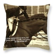 The Partnership Quote Throw Pillow