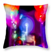 The Party Is Waiting Throw Pillow