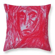 The Partys Over Throw Pillow
