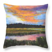 The Passage Into Night Throw Pillow