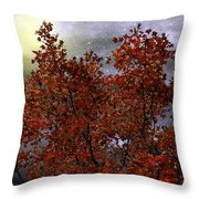 The Passion Of Autumn Throw Pillow