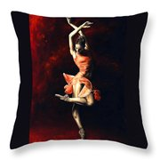 The Passion Of Dance Throw Pillow