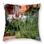 The Passion Of Summer Throw Pillow