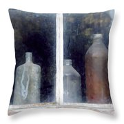 The Past In The Window Throw Pillow