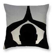 The Path Of Compassion Throw Pillow