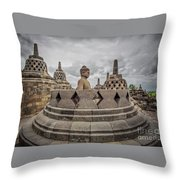 The Path Of The Buddha #1 Throw Pillow