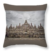 The Path Of The Buddha #3 Throw Pillow