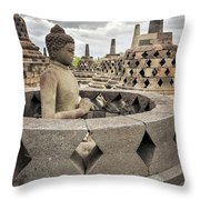 The Path Of The Buddha #4 Throw Pillow
