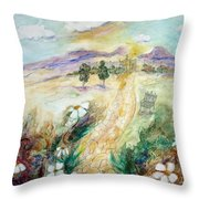 The Path Of Untold Riches Throw Pillow