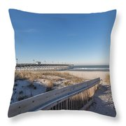 The Path To Relaxation Throw Pillow
