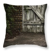 The Path To The Doorway Throw Pillow