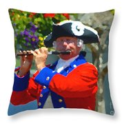 The Patriot Throw Pillow