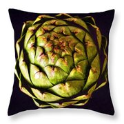 The Patterns Of The Artichoke Throw Pillow