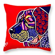 The Peace Keeper Throw Pillow