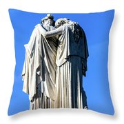 The Peace Monument Throw Pillow