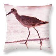 The Peace Piper Throw Pillow