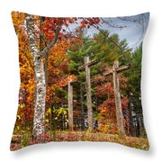 The Peace That Passes All Understanding Throw Pillow