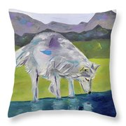 The Peace Within Throw Pillow