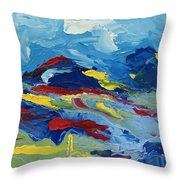 The Peak Throw Pillow