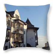 The Pearl Throw Pillow by Megan Cohen