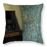 The Peasant's Dwelling Throw Pillow