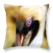 The Pelican Look Throw Pillow