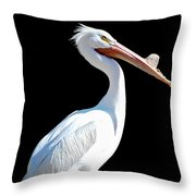 The Pelican  Throw Pillow