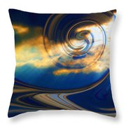 The Pending Storm Throw Pillow