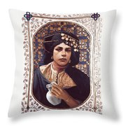 The Penitent Woman - Lgtpw Throw Pillow