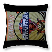 The Pennant 2012 Throw Pillow
