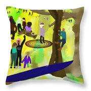 The People's Congress Throw Pillow