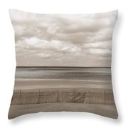 The Perfect Sky Is Torn Throw Pillow by Dana DiPasquale