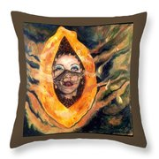 The Perfect Woman Throw Pillow
