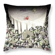 The Perfectionist Throw Pillow