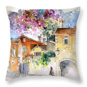 The Perigord In France Throw Pillow
