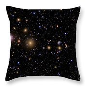 The Perseus Galaxy Cluster Throw Pillow