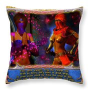The Persian Way Throw Pillow