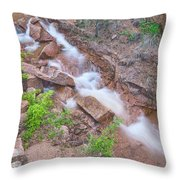 The Pessimist Sees Difficulties In Opportunities. The Optimist Sees Opportunities In Difficulties.  Throw Pillow