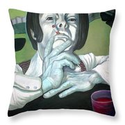 The Peter Max Generation. Throw Pillow