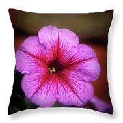 The Petunia Throw Pillow
