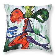 The Phantoms I Called Throw Pillow