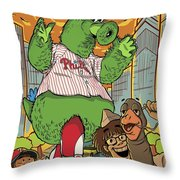 The Pherocious Phanatic Throw Pillow