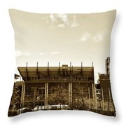 The Philadelphia Eagles - Lincoln Financial Field Throw Pillow