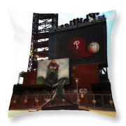The Phillies - Steve Carlton Throw Pillow