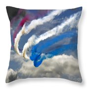 The Phoenix Bend Throw Pillow