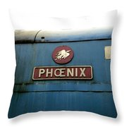 The Phoenix Throw Pillow