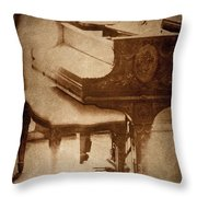 The Piano... Throw Pillow